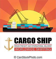 Worldwide shipping,cargo,Logistics