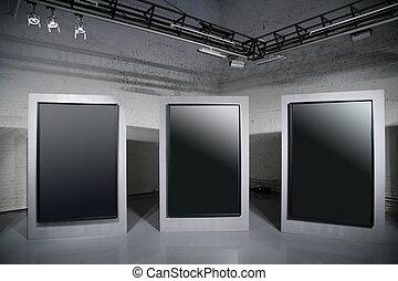 big dark frames