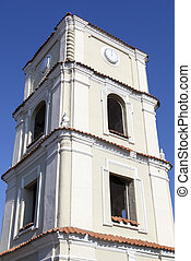 Evangelic Church Clock - The historic clock tower of...