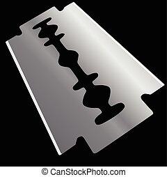 Razor blade - Replacement element razor. Razor blades....
