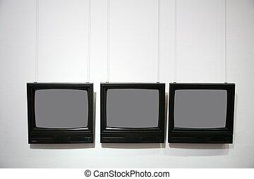 bordas, forma, televisão