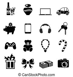 Christmas Gifts Icons