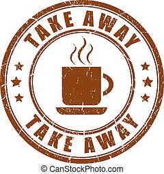 Take away coffee