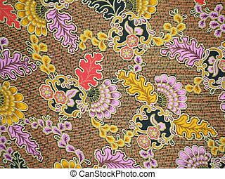 Batik cloth made in indonesia