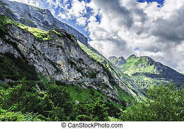 Pyrenees mountains - Amazing landscape over the Pyrenees...