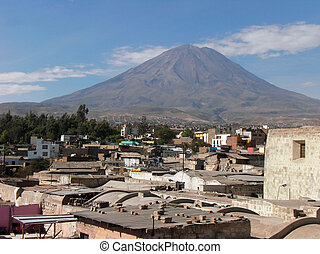 Arequipa - city named Arequipa in Peru ( South America )