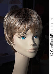 Head of a mannequin