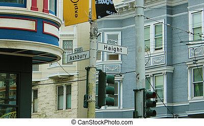 Haight/Ashbury - yeah