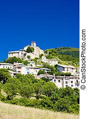 Saint Jurs, Provence, France