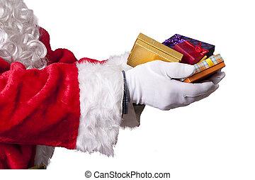 navidad,  Claus,  santa