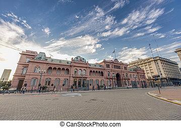 Casa Rosada building in Buenos Aires, Argentina. - BUENOS...