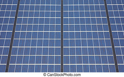 solar panels - A photography of a solar panels texture