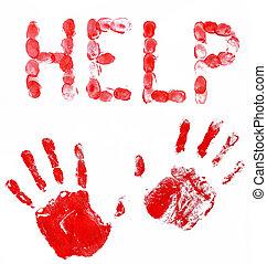 fingerprints and hands help - fingerprints and hands soaked...