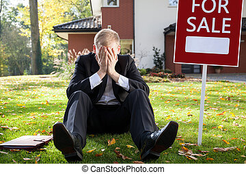Resigned real estate broker