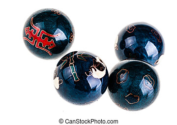 Chinese Medicine balls - Chinese Baoding balls or medicine...