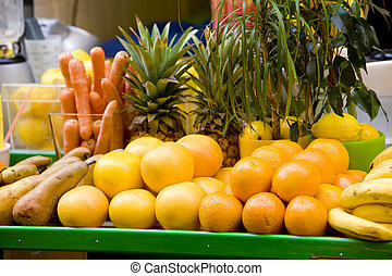 fruit still life, Aix-en-Provence, Provence, France