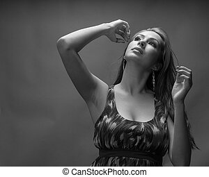 Slender Hispanic Model In 20s - Hidpanic model in her late...