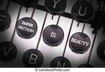Knopen, bijzondere, typemachine