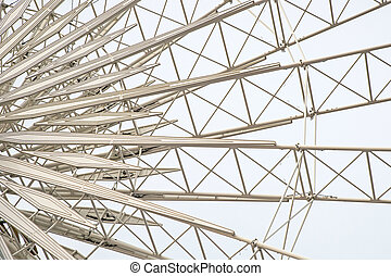 Ferris Wheel Metal Framing