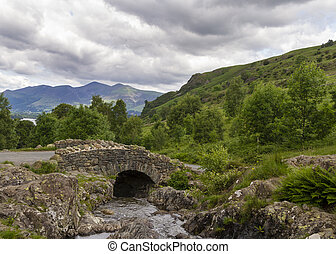 Ashness Bridge in the English Lake District