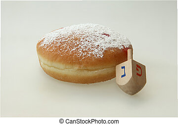 Traditional Jewish holiday food, Hanukkah Doughnut