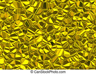 gold stones surface relief shining backgrounds
