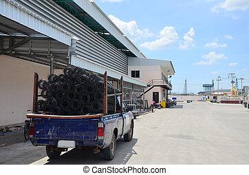 Storage Warehouse Steel