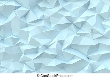 Abstract triangles background - Abstract teal color...