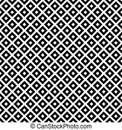 Black and White Diagonal Squares Tiles Pattern Repeat...