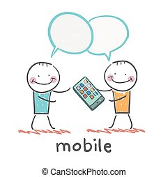 people are talking about mobile