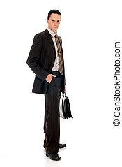 Businessman briefcase
