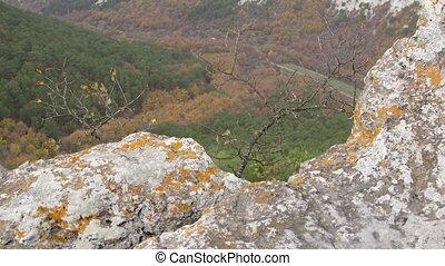 Mangup plateau in Crimean mountains
