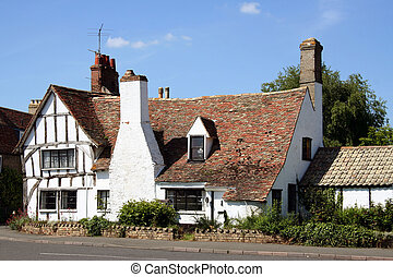 Typical English country house