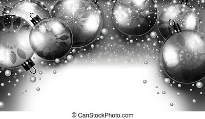 Merry Christmas Background - An abstract illustration on...