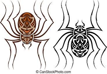 Tattoo Spider Design