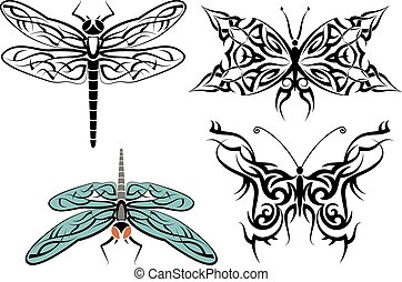 Tattoo Dragonfly Design