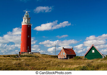 Old lighthouse on a seashore