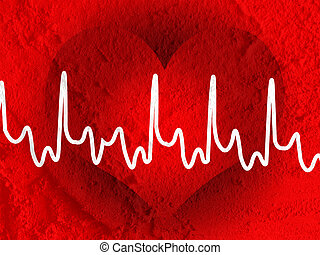 heart beat line