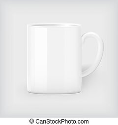 Coffee mug mock up - White coffee mug mock up, corporate...