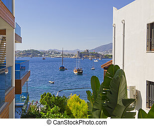 Bodrum, Turkey - Bodrum Castle or the Castle of St Peter in...