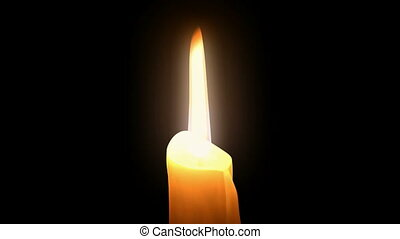 Candlelight. Loop. CG. HD. - Candlelight animation....