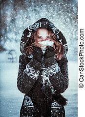 menina, Inverno