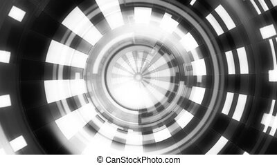 Black white Geometric VJ Loop X77T - Black white Geometric...