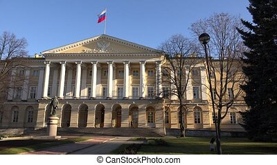 The Government of St Petersburg Smolny 4K - The Government...