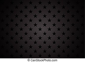 Black stars abstract vector background - Black stars...