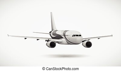 An international plane
