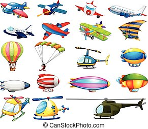 Air transport - Different modes of air transportation