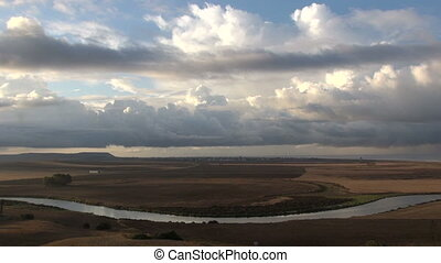 Andalusian country time lapse from Conil de la Frontera...