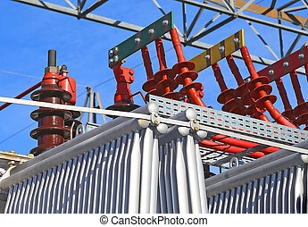 particular of the electrical connections of the large...