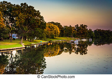 Middle River, in Essex, Maryland.